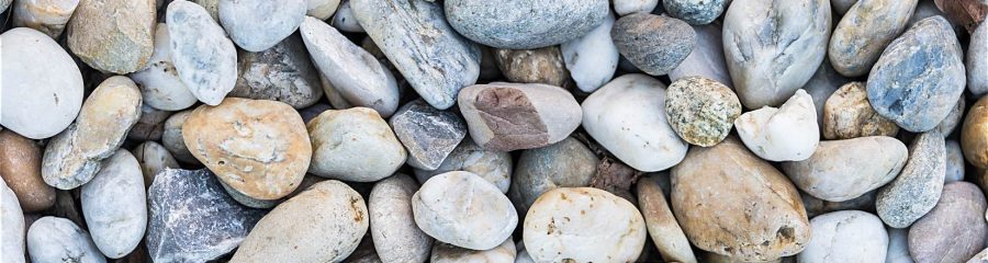 Mixture of Pebbles and Stones Pattern